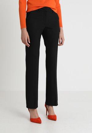 CLARA LONG - Trousers - black glow