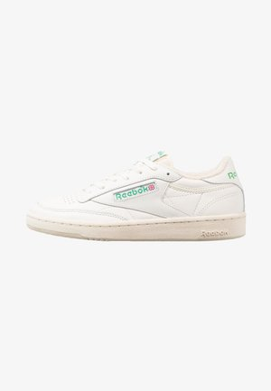 CLUB C 85 VINTAGE SOFT LEATHER SHOES - Trainers - chalk/green/white/red