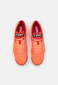 Joma - DRIBLING - Indoor football boots - orange - 3