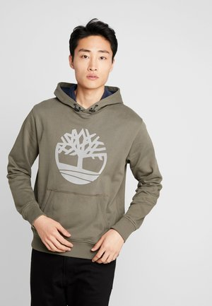 TREE LOGO - Bluza z kapturem - grape leaf