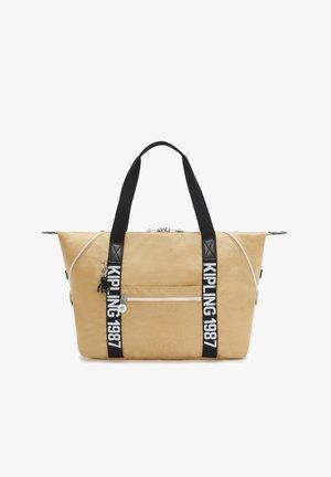 Tote bag - beige black
