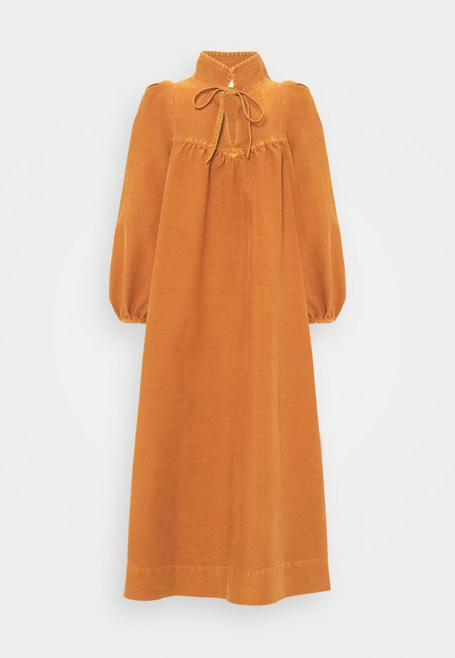 Robe d'été - vivid brown