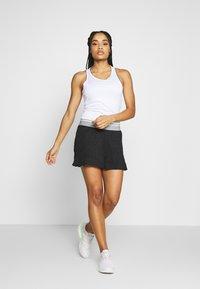 adidas Performance - CLUB TANK - Camiseta de deporte - white/silver/black - 1