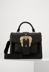 Versace Jeans Couture - TOP HANDLECOUTURE  - Borsa a mano - nero - 0