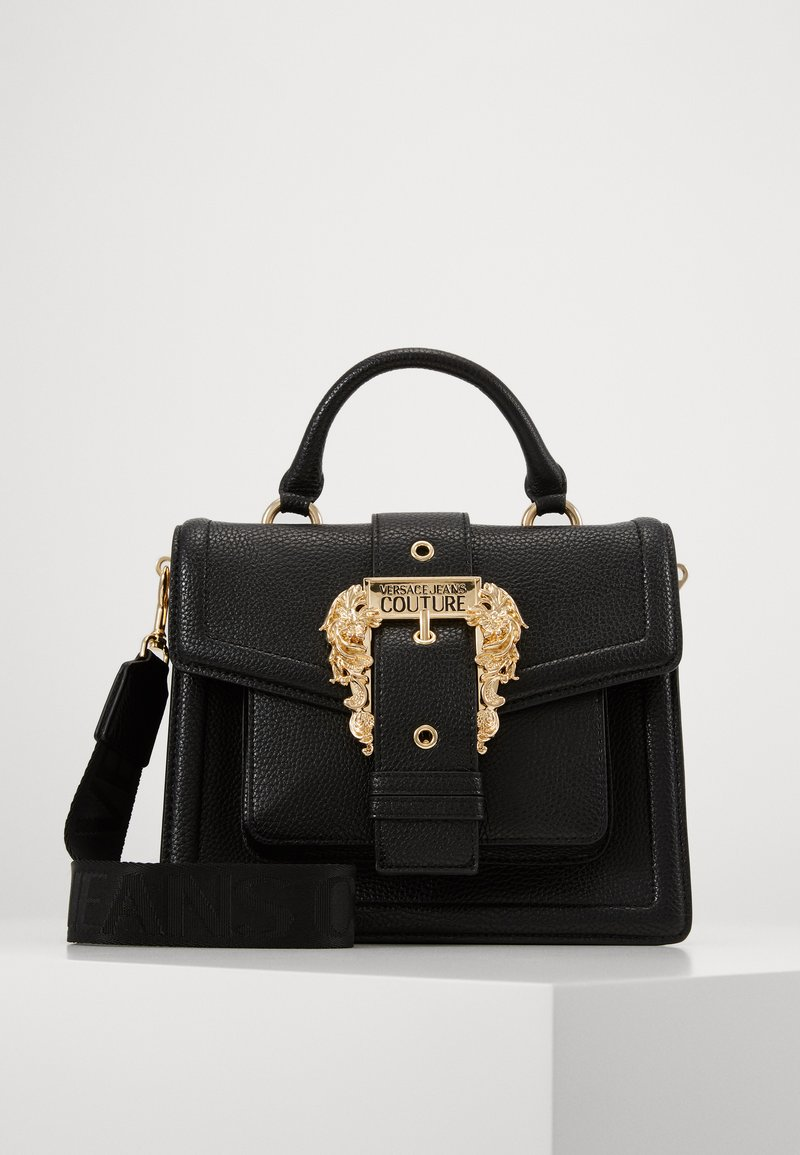 Versace Jeans Couture - TOP HANDLECOUTURE  - Handbag - nero