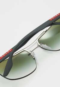 Prada Linea Rossa - Sunglasses - silver-coloured - 4