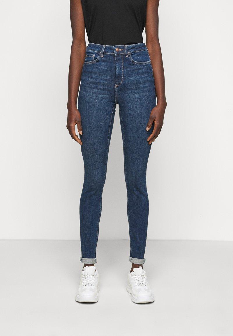 Vero Moda Tall - VMSOPHIA  - Jeans Skinny Fit - dark blue denim