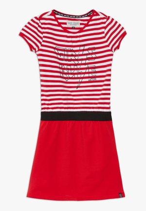 KIDS SAMAI DRESS - Žerzejové šaty - red