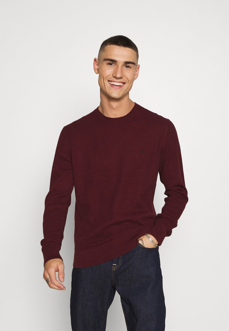 Calvin Klein Tailored - Jumper - red