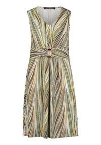 Betty Barclay - Jersey dress - Cream/Green - 0