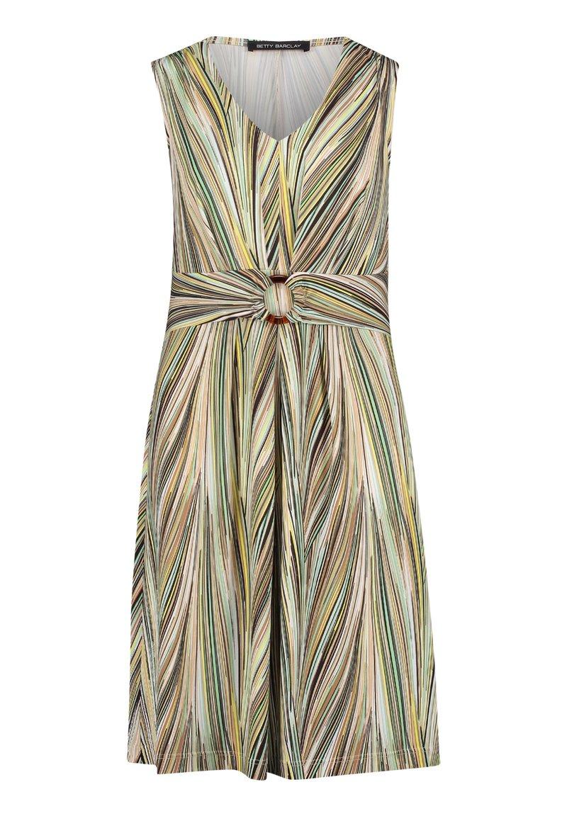 Betty Barclay - Jersey dress - Cream/Green
