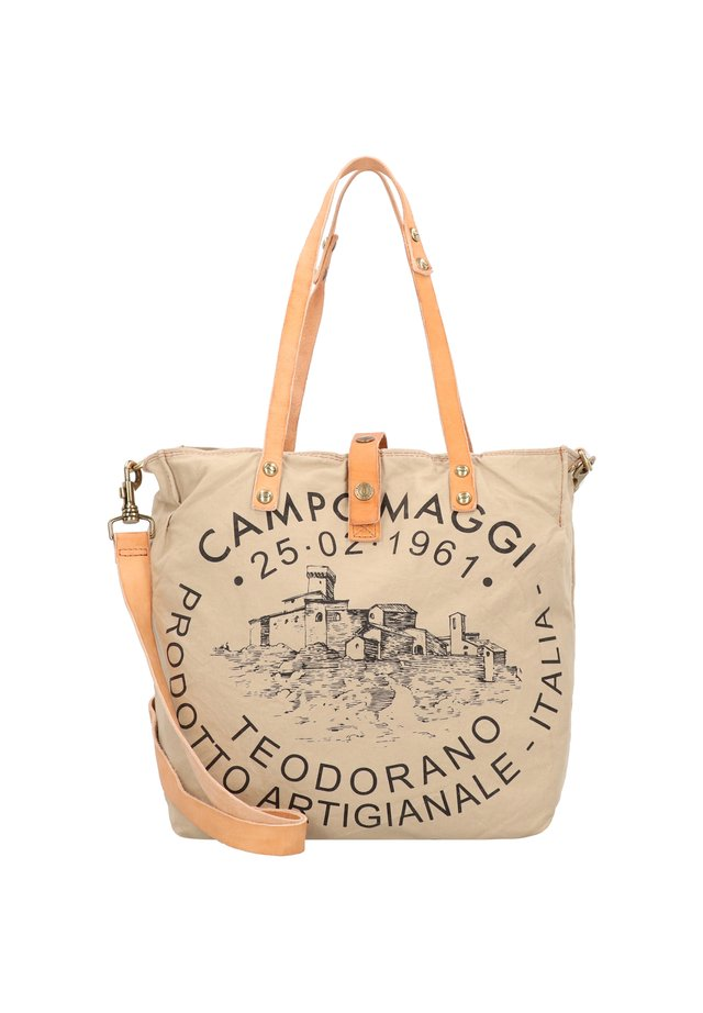 CAMPOMAGGI SCHULTERTASCHE 30 CM - Handbag - beige