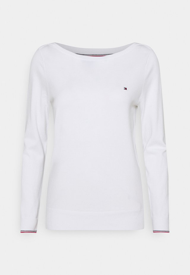 BOAT - Sweter - optic white