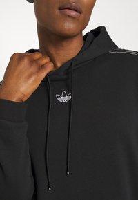 adidas Originals - UNISEX - Sweatshirt - black/chalk white - 4