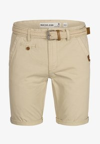 INDICODE JEANS - CASUAL FIT - Shorts - fog - 5