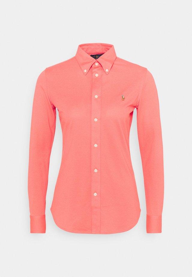 OXFORD - Button-down blouse - amalfi red
