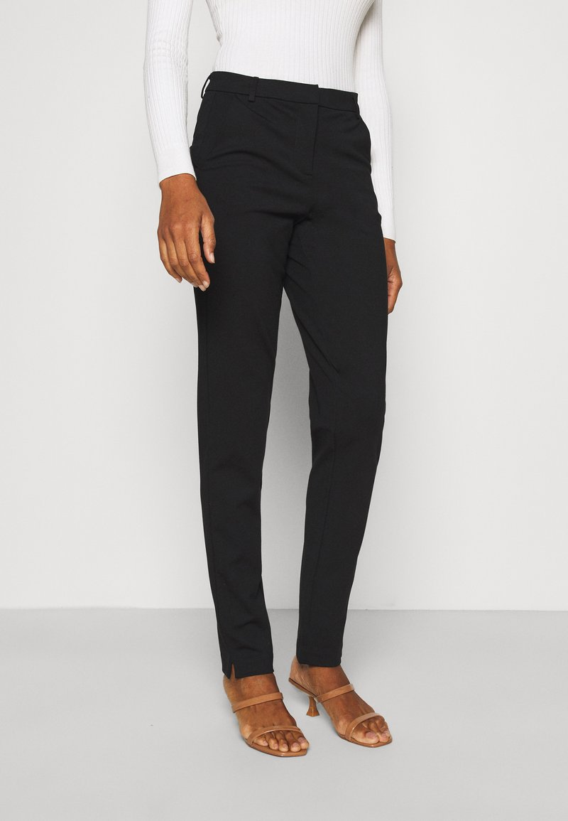 Vero Moda Tall - VMLILITH ANKLE PANT - Trousers - black
