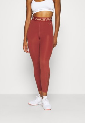 Leggings - firewood orange/amber brown