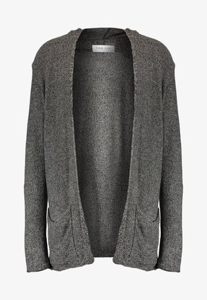 Cardigan - light grey/black