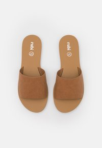 Rubi Shoes by Cotton On - CARRIE MINIMAL SLIDE - Sandaler - tan - 5