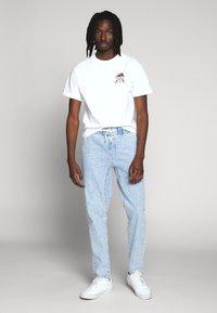 HUF - YEAR OF THE RAT TEE - T-Shirt print - white - 1
