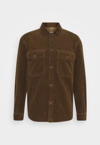ARMY OVER SHIRT - Chemise - chocolate brown