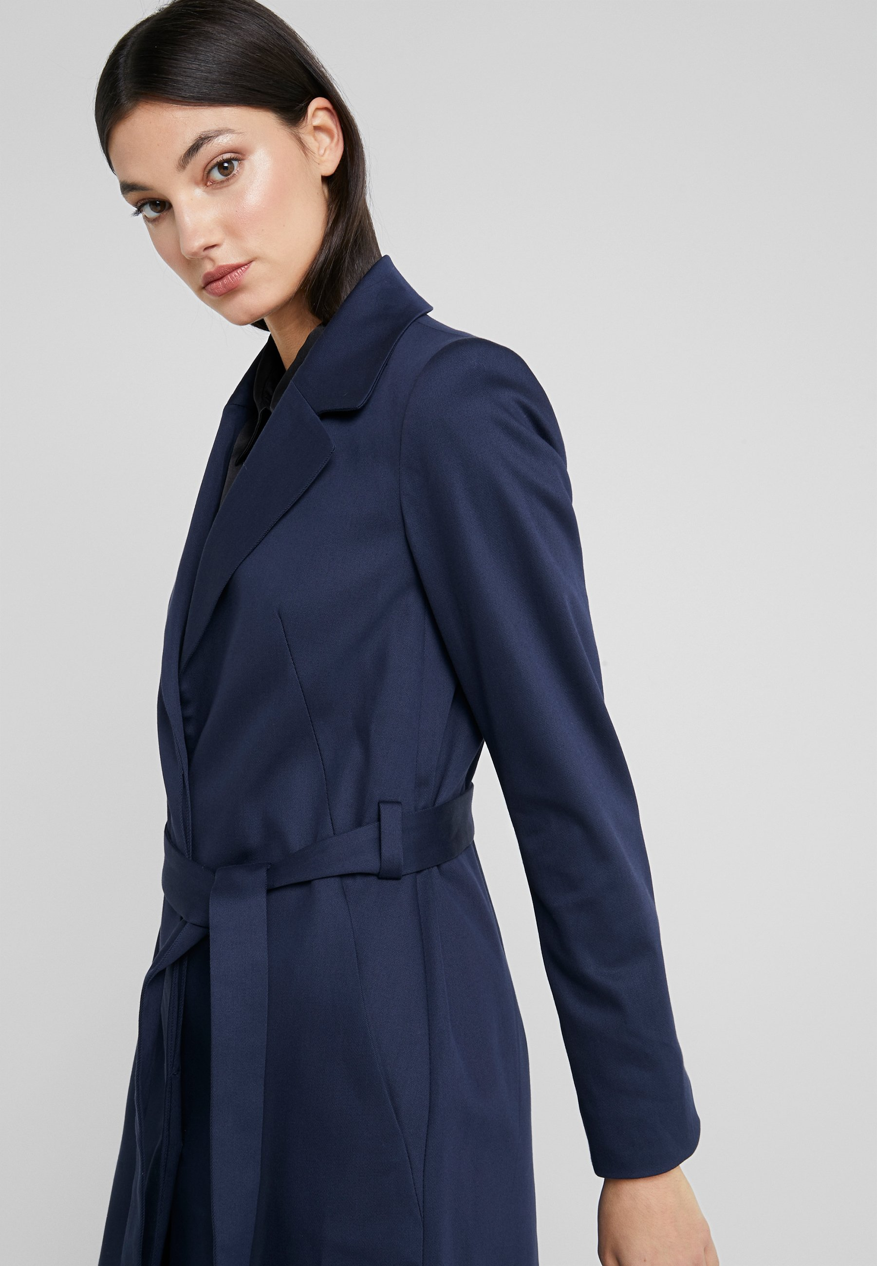 DRYKORN PLYMOUTH - Trench - navy - Manteaux Femme l9E6o