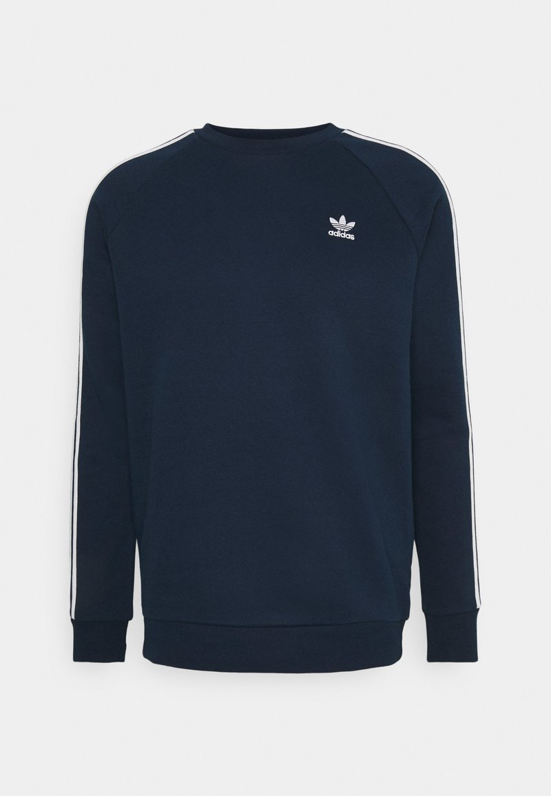 adidas Originals - 3-STRIPES CREWNECK SWEATSHIRT - Sudadera - conavy