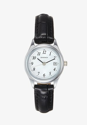 LADIES WATCH ROUND CASE - Klokke - black