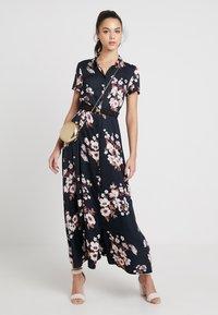 Vero Moda - VMROMA BELT ANCLE DRESS - Maxi dress - black - 2