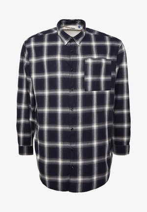 JORNOIR  - Shirt - dark blue/white