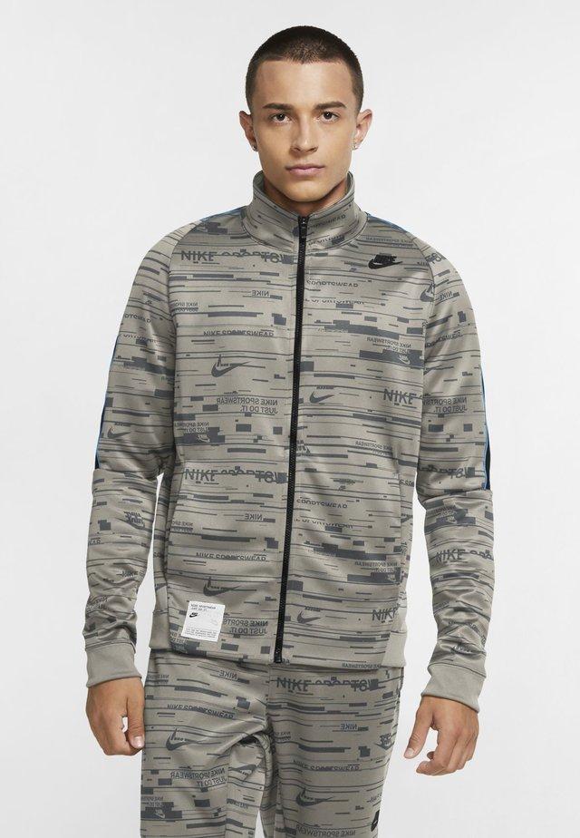 Training jacket - stone/iron grey