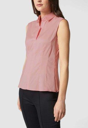 MIT UMLEGEKRAGEN - Button-down blouse - rosa