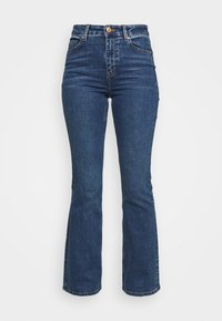 Marks & Spencer London - EVA - Bootcut jeans - blue denim - 4