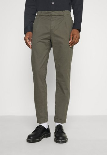 SOLID STRETCH - Chinot - woodland green