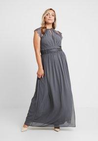 TFNC Curve - VALETTA MAXI - Společenské šaty - vintage grey - 0