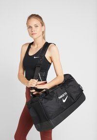 Nike Performance - POWER M DUFF PRO - Sports bag - black/white - 5