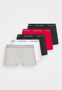 Calvin Klein Underwear - STRETCH LOW RISE TRUNK 5 PACK - Underkläder - black/grey/white - 4