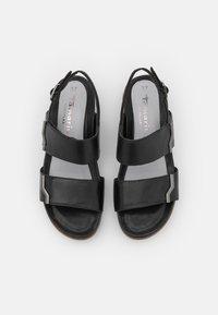 Tamaris Pure Relax - Platform sandals - black - 5