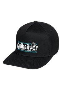 Quiksilver - QUIKSILVER™ WRANGLED UP - SNAPBACK-KAPPE FÜR MÄNNER AQYHA04571 - Cap - black - 0
