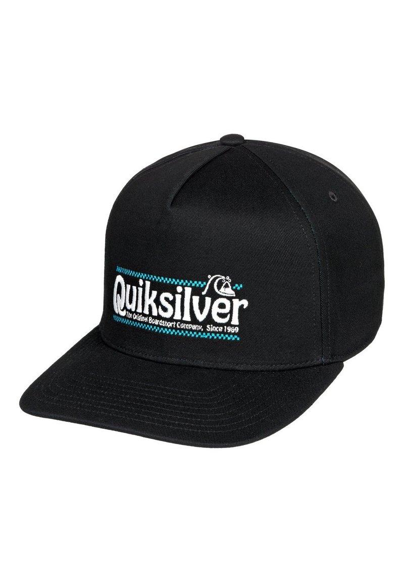 Quiksilver - QUIKSILVER™ WRANGLED UP - SNAPBACK-KAPPE FÜR MÄNNER AQYHA04571 - Cap - black