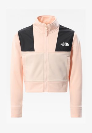 G SURGENT FULL ZIP CROPPED - Training jacket - pearl blush