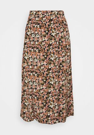 VIBROOKS MIDI SKIRT - A-line skirt - old rose
