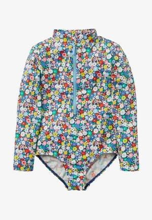 Swimsuit - bunt, blumenbeet