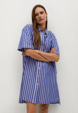 MILLE-H - Shirt dress - porzellanblau