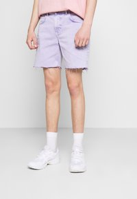 Kaotiko - BERMUDA BAGGY - Denim shorts - denim - 0