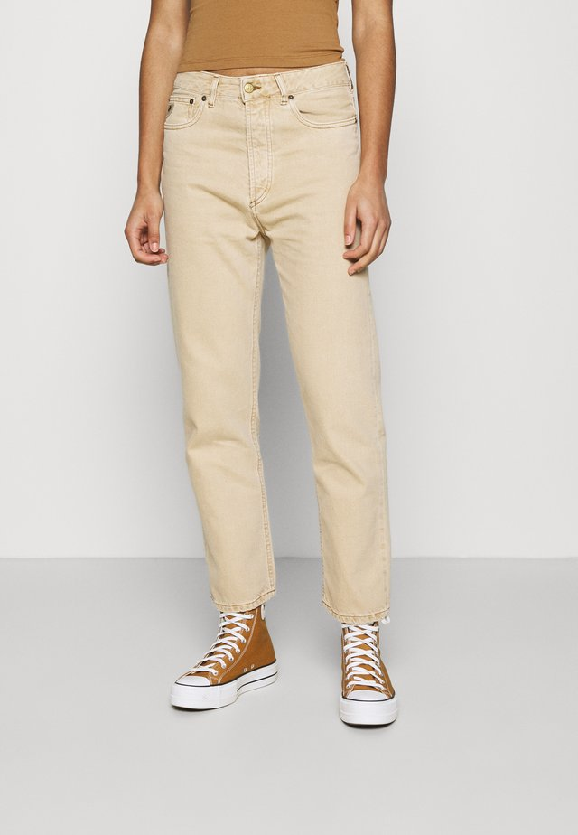 DANA - Jeans straight leg - nude