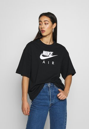 AIR - Camiseta estampada - black