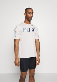 Fox Racing - DEFEND WURD - T-Shirt print - navy - 0