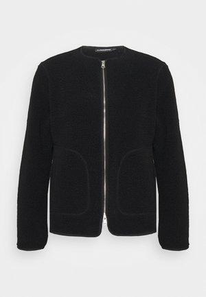 DUKE JACKET - Fleecová bunda - black